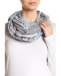 Vince Camuto | Torn Textiles Patterned Scarf | Lyst