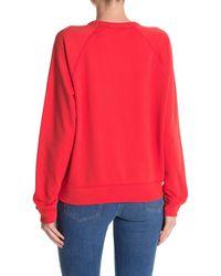 Levi's Everyday Crew Neck Sweatshirt - Red