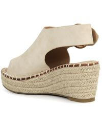 Catherine Malandrino Cirkly Espadrille Wedge Sandal - Natural