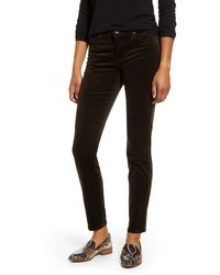 Kut From The Kloth Diana Stretch Corduroy Skinny Pants - Black