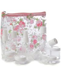 MIAMICA - Clear Security Case 15-piece Set - Floral - Lyst