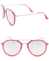 Ray-Ban - Women's Highstreet Round Sunglasses - Lyst