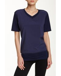 Brooks - Fly-by V-neck Tee - Lyst