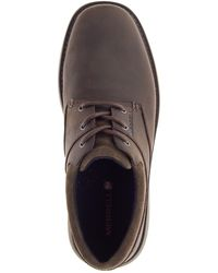 Merrell World Vue Leather Sneaker - Brown