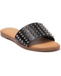 C&C California Becca Studded Sandal - Black