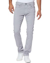 PAIGE Lennox Slim Fit Jeans - Gray