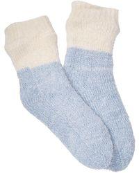 Jessica Simpson Lounge Socks - Blue