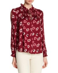 Lucky Brand - Floral Boho Blouse - Lyst