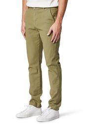 Hudson Jeans Classic Slim Fit Straight Leg Chino Pants - Green