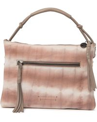 Lucky Brand Cabe Tassel Crossbody Bag In Fawn Tie Dye At Nordstrom Rack - Multicolor