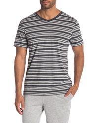 Daniel Buchler - Heather Striped T-shirt - Lyst