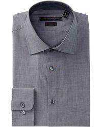John Varvatos - Classic Solid Regular Fit Dress Shirt - Lyst