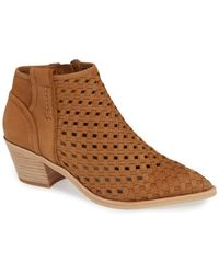 Dolce Vita - Spence Woven Booties - Lyst