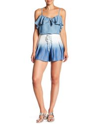 Do+Be Collection - Ombre Denim Shorts - Lyst
