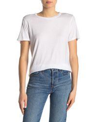 Michael Stars - Short Sleeve Crew Neck T-shirt - Lyst