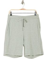 Daniel Buchler Cotton Poly Heather Shorts - Multicolor