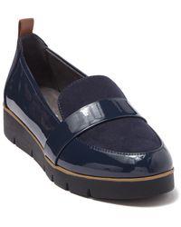 Dr. Scholls Webster Platform Loafer - Blue