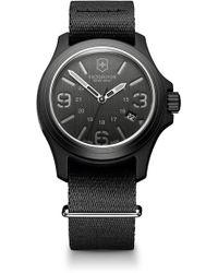 Victorinox - (r) Original Nylon Strap Watch, 40mm - Lyst