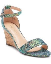 In Touch Footwear - Gemma Wedge Sandal - Lyst