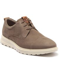 Ecco Suede Hybrid Sneaker - Brown