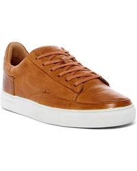 Blackstone - Leather Low Lace-up Trainer - Lyst