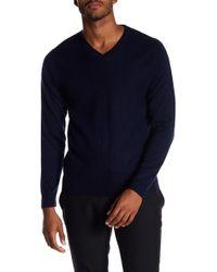 RAFFI - Wool V-neck Sweater - Lyst