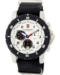 Victorinox Men's Chrono Classic Quartz Watch, 41mm - Black