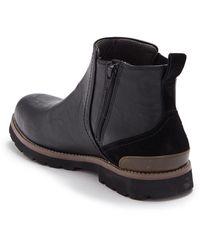 Dr. Scholls Levine Side Zip Chelsea Boot - Black