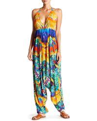 Shahida Parides - Printed Harem Jumpsuit - Lyst