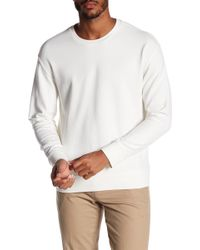 Vince - Seamed Crew Neck Jumper - Lyst
