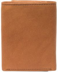Robert Graham Joan Miro Trifold Leather Wallet - Brown