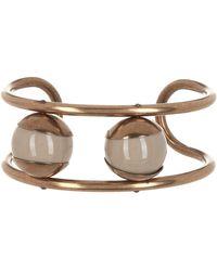 Tomas Maier - Brass Open Cuff Bracelet - Lyst