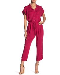 Mustard Seed - Utility Solid Jumpsuit - Lyst