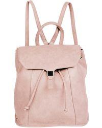Urban Originals Foxy Vegan Leather Flap Backpack - Pink