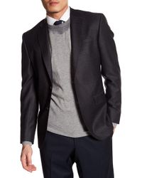 Ted Baker - Jarrow Notch Collar Solid Wool Sport Coat - Lyst