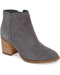 Blondo Nina Waterproof Suede Boot - Grey