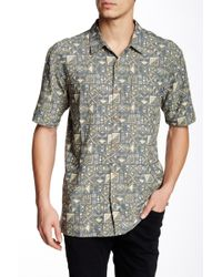 Jack O'neill - Tiki Ti Printed Short Sleeve Regular Fit Shirt - Lyst