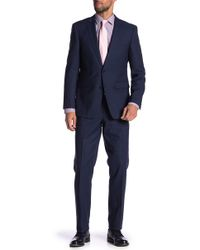 Vince Camuto - Solid Wool Slim Fit 2-piece Suit - Lyst