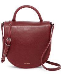 Matt & Nat - Parasm Vegan Leather Saddle Bag - Lyst