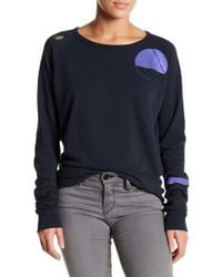 FREE CITY - Life Nature Love Knit Pullover - Lyst
