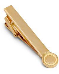 Hickey Freeman Laser Tie Bar - Metallic