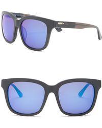 88af3ebfb6 Lyst - Nike Men s Mavrk 59mm Square Sunglasses in Blue for Men