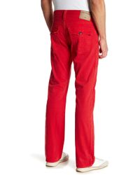 True Religion - Ricky Relaxed Straight Leg Jeans - Lyst