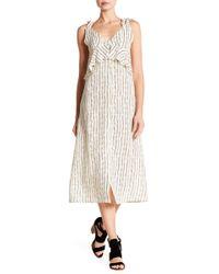 Billabong - Loosen Up Linen Blend Dress - Lyst