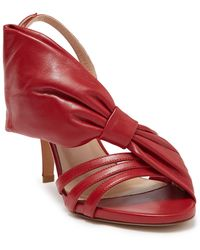Valentino Valentino Garavani Bow Slingback Sandal - Red