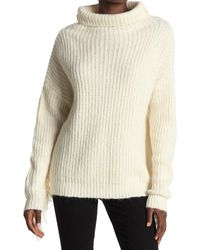 Line Frances Ribbed Knit Sweater - White