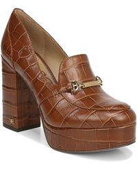 Sam Edelman Aurelie Platform Loafer - Brown
