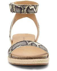 Lucky Brand Garston Espadrille Sandal - Natural