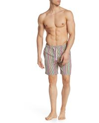 47e74a1dc4879 Onia Charles Striped Trunks in Blue for Men - Save 75% - Lyst