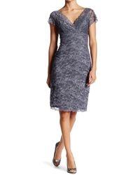 Marina - Beaded Lace Bodycon Dress - Lyst
